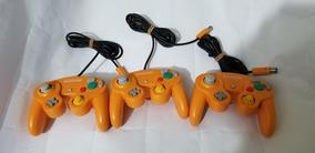 Controle Original Laranja Nintendo Gamecube. Valor 1 Unidad