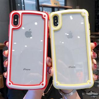 Funda Goma Transparente Uso Rudo 360 iPhone + Mica Cristal