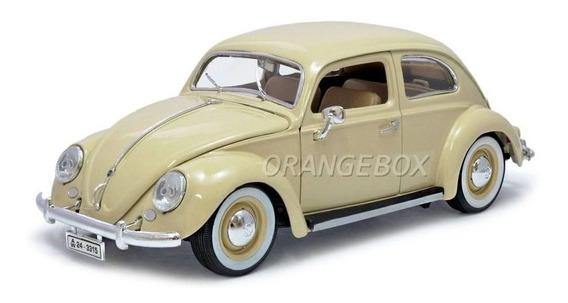 Miniatura Volkswagen Fusca 1955 1:18 Bburago