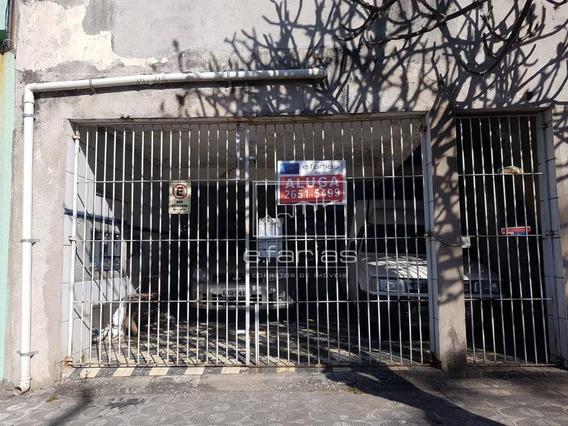 Sobrado Com 3 Dormitórios Para Alugar, 100 M² Por R$ 2.100/mês - Vila Matilde - São Paulo/sp - So0870