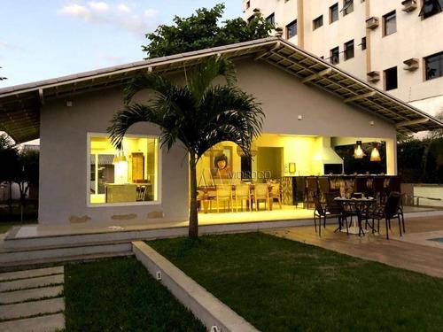 Casa Com 4 Dormitórios Para Alugar Por R$ 14.500/mês - Glória - Macaé/rj - Ca0145
