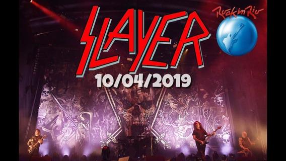 Slayer - Dvd Rock In Rio 2019 - Hd Original + Cd Brinde