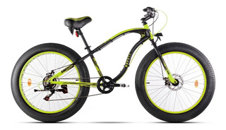 Bicicleta Fat Bike Aurora Bacota 2018 7 Velocidades Shimano