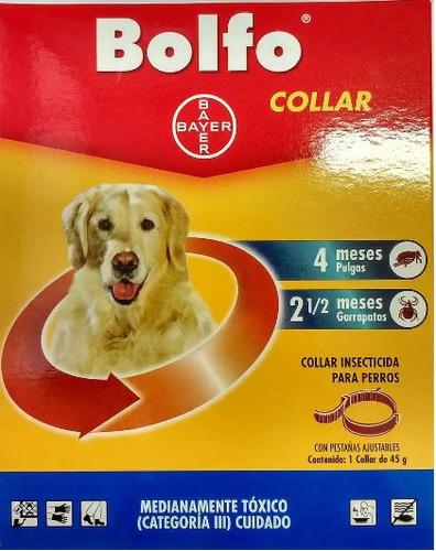 Collar Anti Pulgas Y Garrapatas Bayer Bolfo V2022g