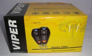 Alarma Viper 3106v Control Tipo Cobra