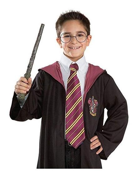 Corbata De Harry Potter Hermione Ron *oficial De Gryffindor