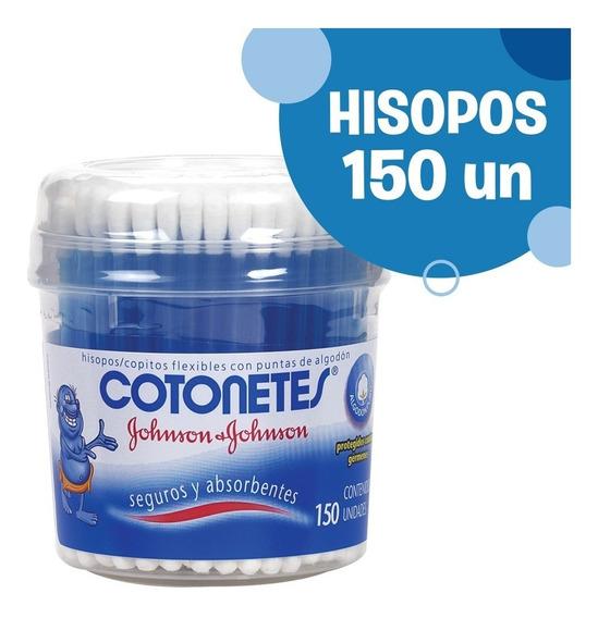 Cotonetes Johnsons® Hisopos Flexibles 150 Unidades