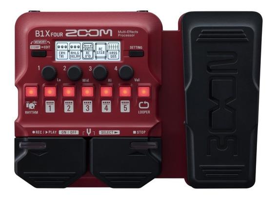 Pedaleira Zoom B1x Four Baixo Pedal Expressão Garantia 2anos