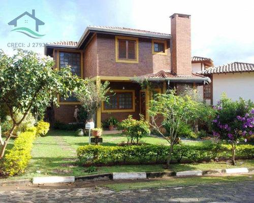 Imagem 1 de 26 de Casa De Condomínio Com 6 Dorms, Condomínio Portal Das Hortências, Atibaia - R$ 960 Mil, Cod: 393 - V393