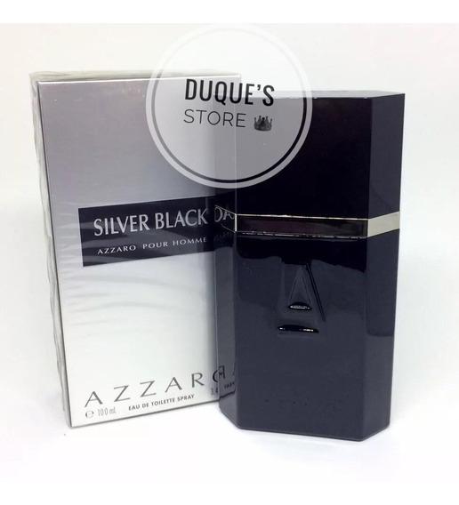 Perfume Masculino Azzaro Silver Black Eau De Toilette 100ml