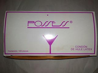 Condones De Látex Marca Possess