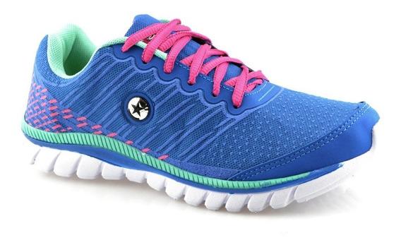 Tênis Feminino Star Flex Para Caminhar Correr Treinar 249
