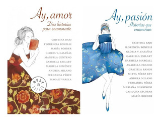 Pack - Ay Pasion + Ay Amor (2 Libros)