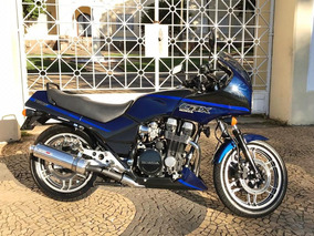 Cbx 750 F 89/90 7 Galo Azul Neon Placa Preta