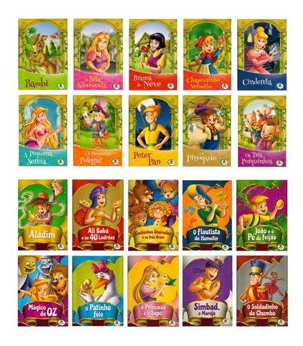 Kit Livro Infantil Clássicos De Ouro + Clássicos De Sempre