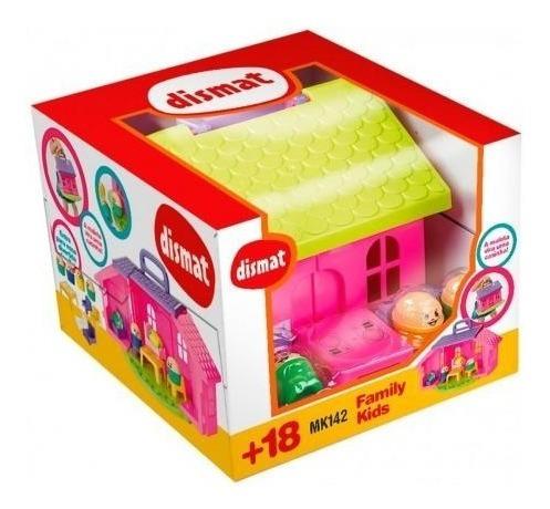 Brinquedo Family Kids, Uma Maleta Que Vira Uma Casinha.