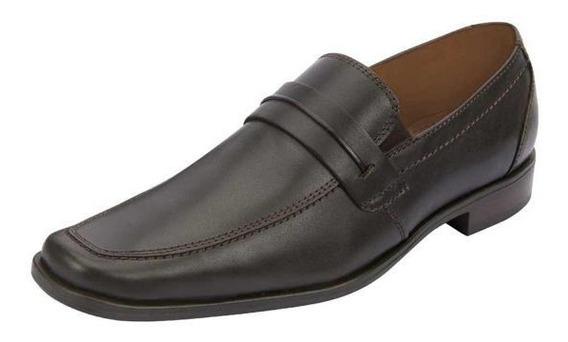 Zapato Para Caballero, Color Café 022313