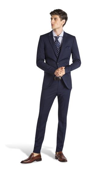 Ambo Siciliano Derecho Azul Hombre Key Biscayne