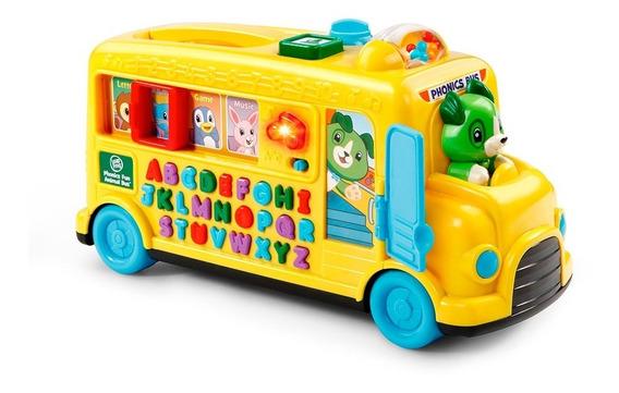 Autobus De Letras Y Animales Leap Frog