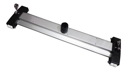 Imagen 1 de 6 de Limpiafondo Vulcano Aluminio 83 Cm Ruedas Dobles Y Cepillo