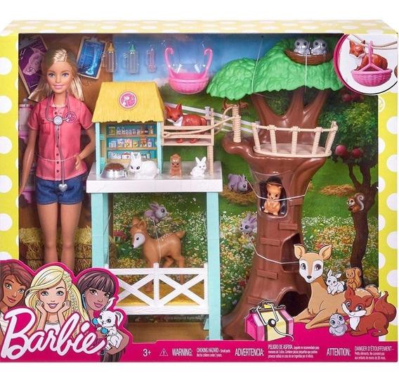 Boneca Barbie Cuidadora Dos Bichinhos- Mattel