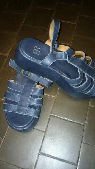 Sandalia Con Plataforma Febo