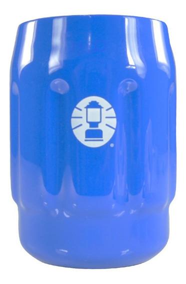 Porta Latas Coleman 350 Ml Cerveja Térmico Bebidas Azul