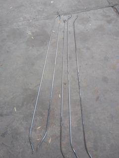 Varillas Toldo Vagoneta Tsuru 1 Modelo 1984-1987