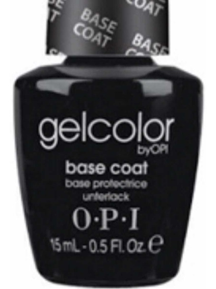 Esmalte Semipermanente Base Coat Opi Gelcolor Uv/led