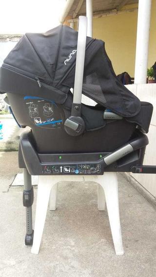 Bebê Conforto Nuna Pipa Luxuoso + Base Para Carro