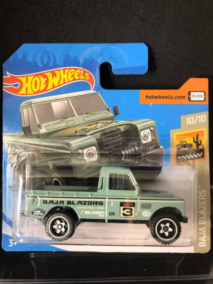 Hot Wheels Land Rover Series Iii Pick Up Defender Falken