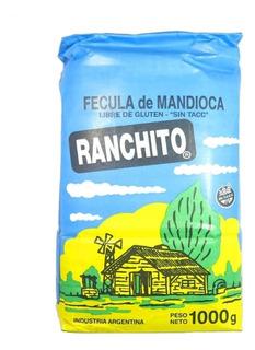 Fécula De Mandioca Ranchito X 1 Kg.