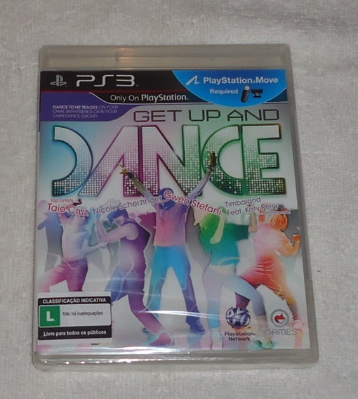 Get Up And Dance Ps3 Lacrado ** Frete Gratis Leia