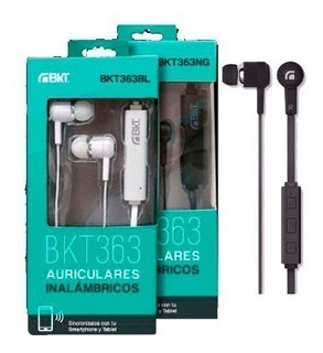 Auricular Bluetooth Manos Libres Bkt-363. Mundoe Zona Norte