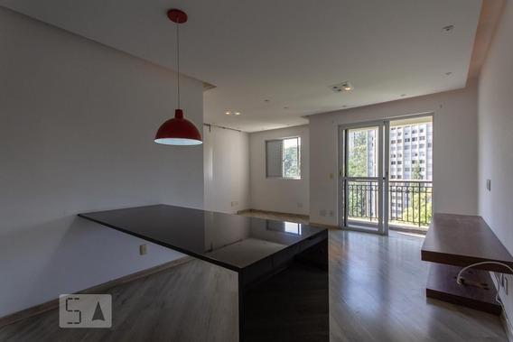 Apartamento No 7º Andar Com 1 Dormitório E 2 Garagens - Id: 892949753 - 249753