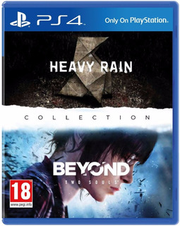 Heavy Rain And Beyond Two Souls Collection - Ps4 (físico) Id