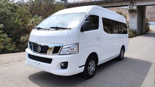 Imagen 1 de 13 de Nissan Urvan 2017 15 Pasajeros Diesel