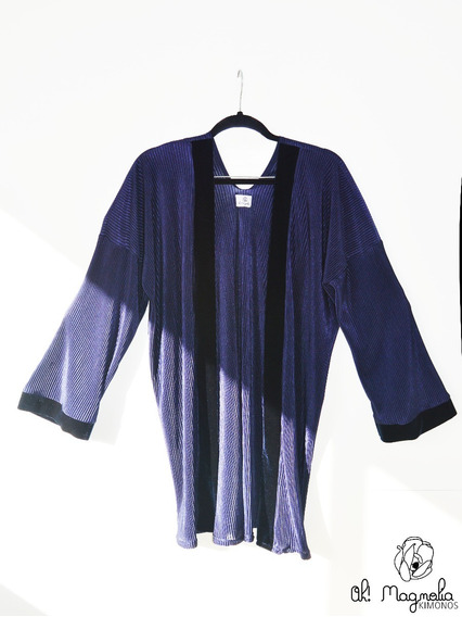 Kimono Y Terciopelo Vestido Mujer Noche Fiesta Lenceria