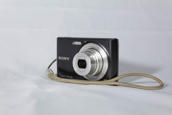 Câmera Sony Cyber-shot (preto) Dsc-w510