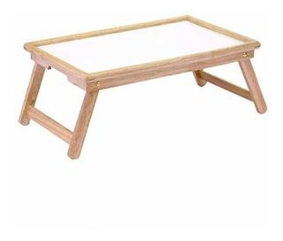Winsome Wood Stockton Bed Tray, Natural/wht. Mesa Para Cama