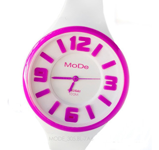 Reloj Okusai Mode-300 Mode-305 Colours 10 Bar Todos Colores Watch Fan Locales Palermo Saavedra