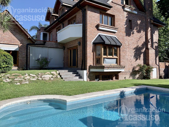 Casa En Venta - Acassuso - San Isidro