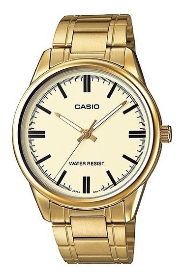 Relógio Casio Collection Masculino Mtp-v005g-9audf