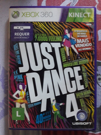 Just Dance 4 Xbox 360 Português