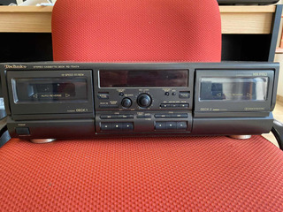 Cassetera Doble Technics Rs-tr474