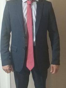 Terno Slim (paletó + Calça + Camisa Social + Gravata)