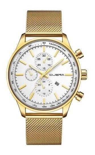 Relógio De Luxo De Aço Inoxidável Aprova D
