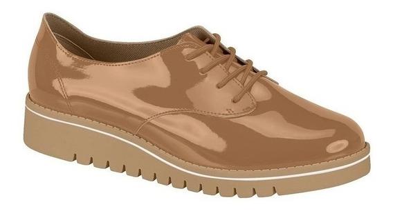 Sapato Tênis Feminino Oxford Caramelo Leve Beira Rio P C+