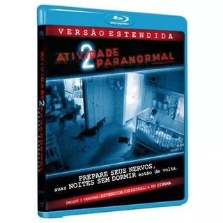 Blu Ray Atividade Paranormal 2 Versao Estendida Lacrado