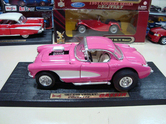 Miniatura Chevy Corvette Gasser 1957 1/18 Road Legends #9615